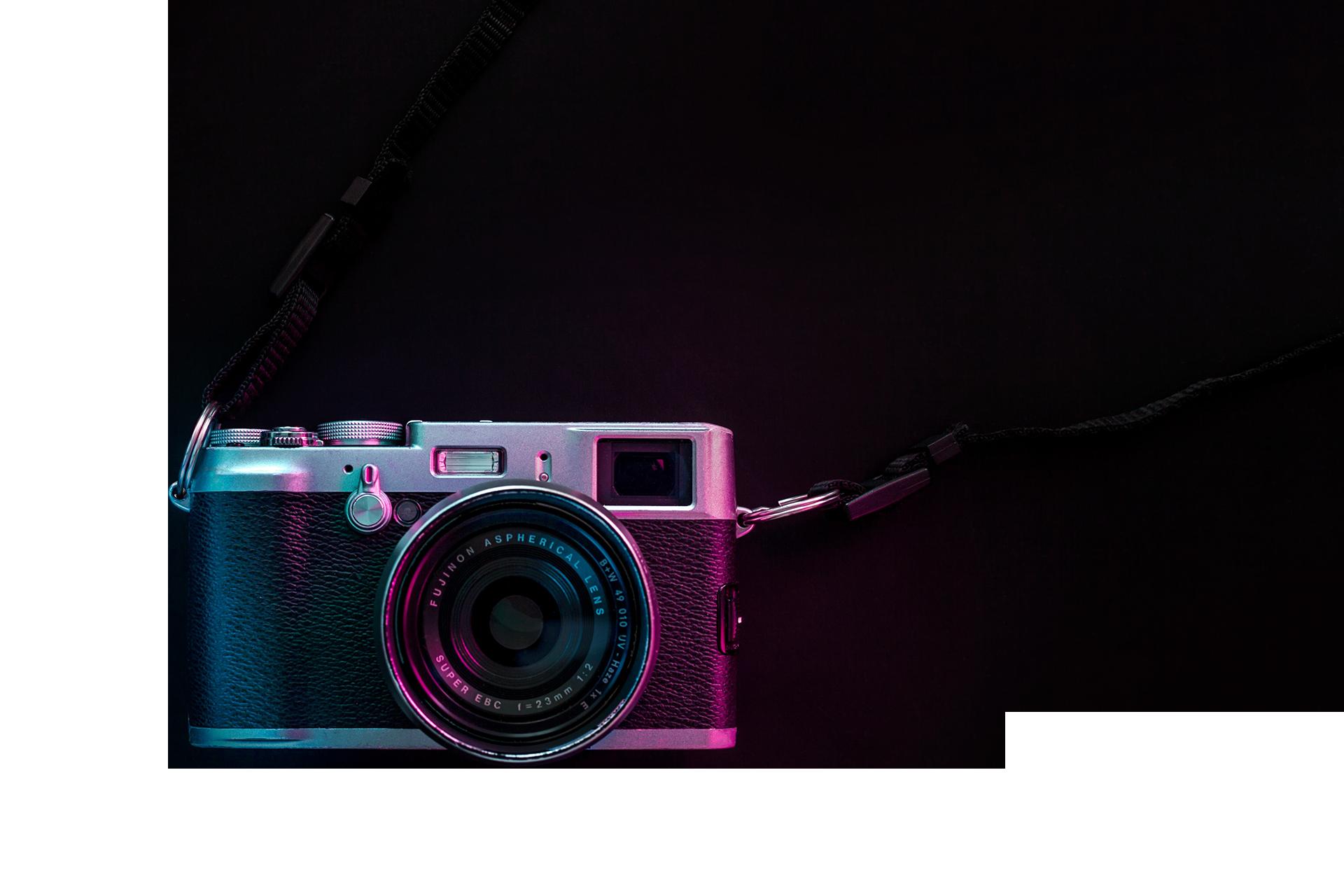 Produktfoto Header Kamera
